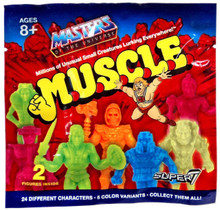Super7 MOTU M.U.S.C.L.E. wave 1 & 2 Masters of the Universe mystery foil bags two bags per order