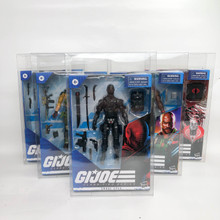 Action Figure Protector cases set of 6 GIjoe TMNT Marvel Legends WWF Power Rangers