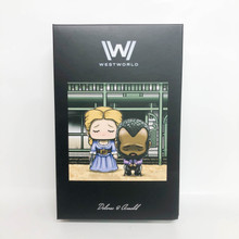 Loot Crate Exclusive Westworld Delores and Arnold  by J Salvador Artist Series