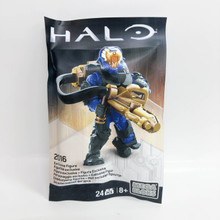 Mega Bloks Construx Halo 2016 SDCC Exclusive Flame Marine Hellbringer Figure