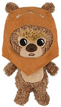 Funko Galactic Plushies Star Wars Ewok Wicket Plush