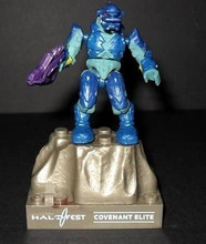 Copy of Mega Bloks Construx Halo Fest 2011 Exclusive Blue Combat Elite Figure