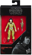 Star Wars 2017 The Black Series Resistance Tech Rose The Last Jedi Action Figure 3.75 Inches