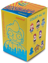 kidrobot- Futurama Universe X Random Mini Figure Blind Box 2.5""