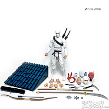 Articulated Icons Feudal Series Deluxe White Ninja G.I.Joe Classified Storm Shadow