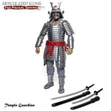 Articulated Icons Feudal Series Temple Guardian Silver Samurai G.I.Joe Classified Scale