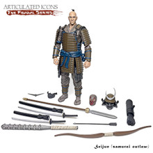 Articulated Icons Feudal Series Seijun Samurai Ronin Budo G.I.Joe Classified Scale