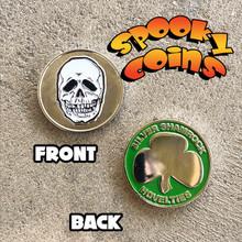 Spooky Coins Halloween Coin Skull