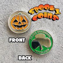Spooky Coins Halloween Coin Jack O Lantern