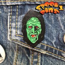 Spooky Pins Halloween Enamel Witch Pin