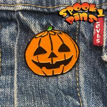 Spooky Pins Halloween Enamel Jack O Lantern Pin