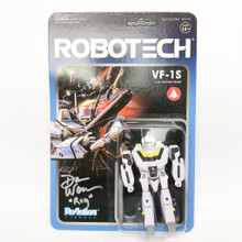 Copy of Robotech ReAction Figure VF-1S  Veritech Battroid Valkyrie Action Figure Signed by Dan Woren
