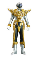 Power Rangers Super Megaforce Gokaiger Vinyl figure Silver Ranger Gold Mode