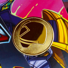 Power Morphicon 2012 Power Rangers Samurai Convention Coin Gold