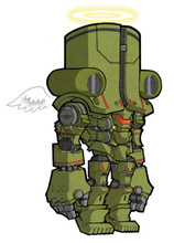 "Pacific Rim Cherno Alpha SD art print 5""x7"" Mike Pflaumer"