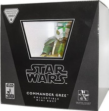 Star Wars Gentle Giant Convention Exclusive Mini Bust Commander Gree