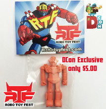 Robo Toy Fest Flesh Colored Dcon Exclusive RTF Robo