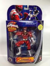 Power Rangers Operation Overdrive Signed Red Turbo Ranger Action Figure Jason David Frank