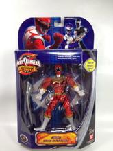 Power Rangers Operation Overdrive Signed Red Zeo Ranger Action Figure Jason David Frank