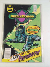 Big Bad Beetleborgs TV show Prop comic Book Flash of the Photonimator
