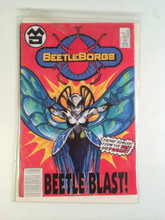 Copy of Big Bad Beetleborgs TV show Prop Comic Book Beetle Blast