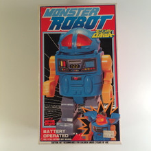 Monster Robot Godzilla walking robot toy made in Japan