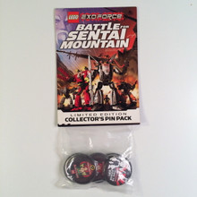 LEGO Exo Force Battle for Sentai Mountain Button Set Limited