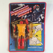 Motorized Dynamic Robot Pull Back non brand Gobot Transformer toy 80s