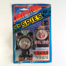 Convertors New Spies Vegas Roulette non brand Gobot Transformer toy 80s