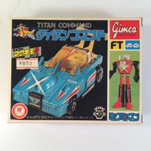 Microman Titan Command Series T482 Alphas Takara Micronauts 1977 Gimca