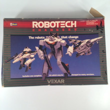 Robotech Defenders Model Kit Vexar VF-1S fully transformable 1/72 opened box Macross