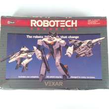 Robotech Defenders Model Kit Vexar VF-1S fully transformable 1/72 opened box Macross A