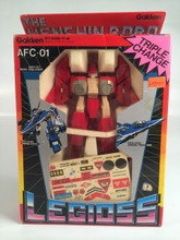 Henshin Robo Legioss Alpha Fighter Red AFC-01 Robotech Gakken Small version