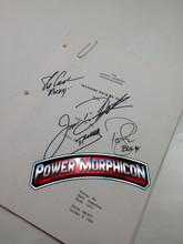 Original Mighty Morphin Power Rangers Signed Script Episode 91 Jason David Frank Steve Cardenas Paul Schrier