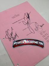 Original Mighty Morphin Power Rangers Signed Script Episode 91Pink Jason David Frank Steve Cardenas Paul Schrier