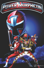 Power Morphicon 2016 Convention Print