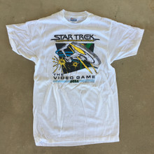 Star Trek Strategic Operations Simulator Vintage T-Shirt by SEGA Size Medium
