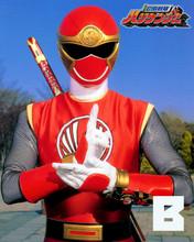 Hirofumi Fukuzawa Super Sentai HURRICANGER Red autographed Photo Japan World Heroes 2017