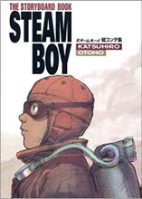 The Storyboard Book: Steam Boy (Suchiimu Booi Ekonteshuu) Japanese Hardcover Katsuhiro Otomo