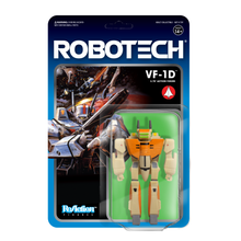 Robotech ReAction Figure VF-1D  Veritech Battroid Valkyrie Action Figure
