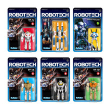 Robotech ReAction Figure Complete Set Series 1 Action Figure
