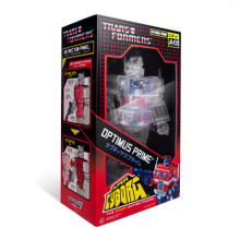 Transformers Optimus Prime Super Cyborg SDCC exclusive Clear