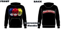Power Morphicon 2018 Convention Power Rangers Hoodie Beast Medium