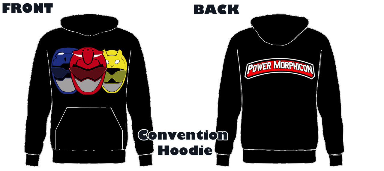 Power Morphicon 2018 Convention Power Rangers Hoodie Beast
