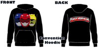 Power Morphicon 2018 Convention Power Rangers Hoodie Beast Extra Large