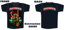Power Morphicon 2018 Convention Power Rangers Convention Shirt Small