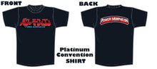Power Morphicon 2018 Platinum Convention Shirt Large
