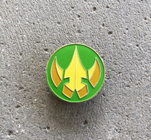 Power Morphicon 2018 Lord Drakkon Logo Pin