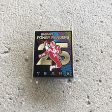 Power Morphicon 2018 Power Rangers 25th Logo Pin