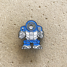Power Morphicon 2018 Power Rangers Beast Morphers Go Busters Blue Gorilla Buddy Roid Pin